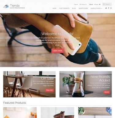 Tienda WordPress Theme